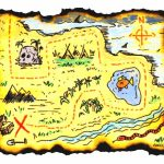Adventure Map Clipart Printable Treasure Maps For Kids In   Clipartpost   Printable Kids Pirate Treasure Map