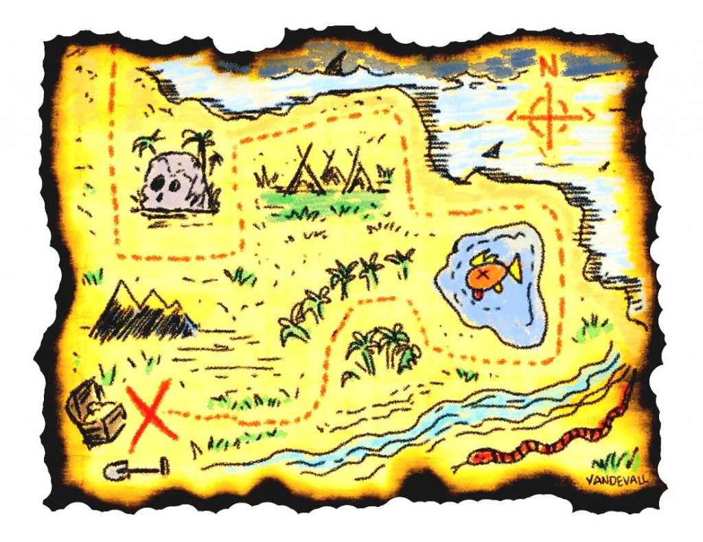 Adventure Map Clipart Printable Treasure Maps For Kids In - Clipartpost - Printable Kids Pirate Treasure Map