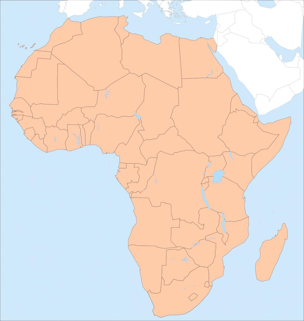 Africa – Printable Maps –Freeworldmaps - Free Printable Map Of Africa