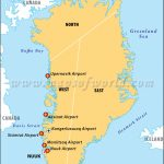Airports In Greenland, Greenland Airports Map   Printable Map Of Greenland