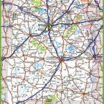 Alabama Road Map   Printable Alabama Road Map