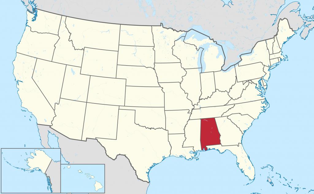 Alabama - Wikipedia - Us Map Of Alabama And Florida