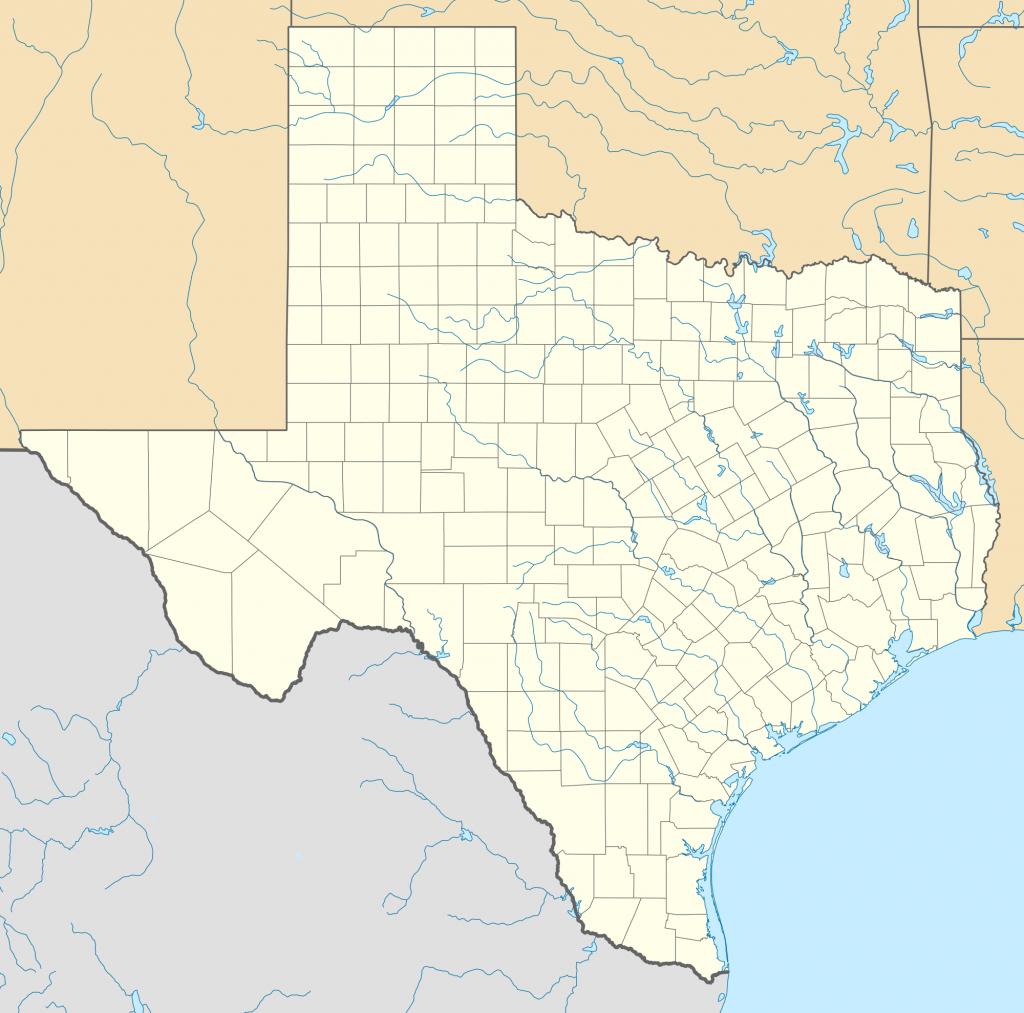 Alamo Mission In San Antonio - Wikipedia - Giant Texas Wall Map