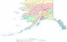Free Printable Map Of Alaska