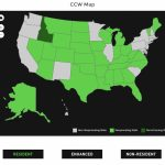 Alien Gear Holsters   Texas Ltc Reciprocity Map
