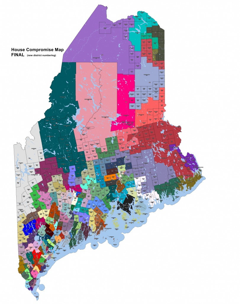 All About Redistricting -- Maine - Texas Senate District 21 Map
