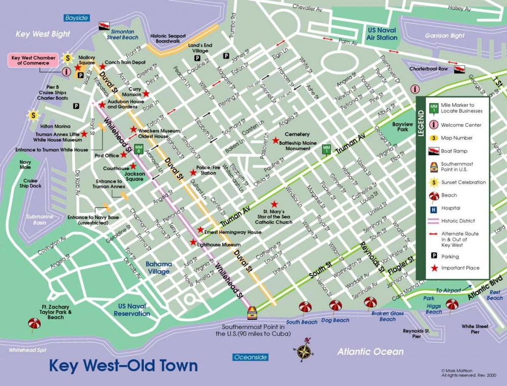 All Parrotheads Should Make A Pilgrimage At Least Once. | Places - Map Of Duval Street Key West Florida