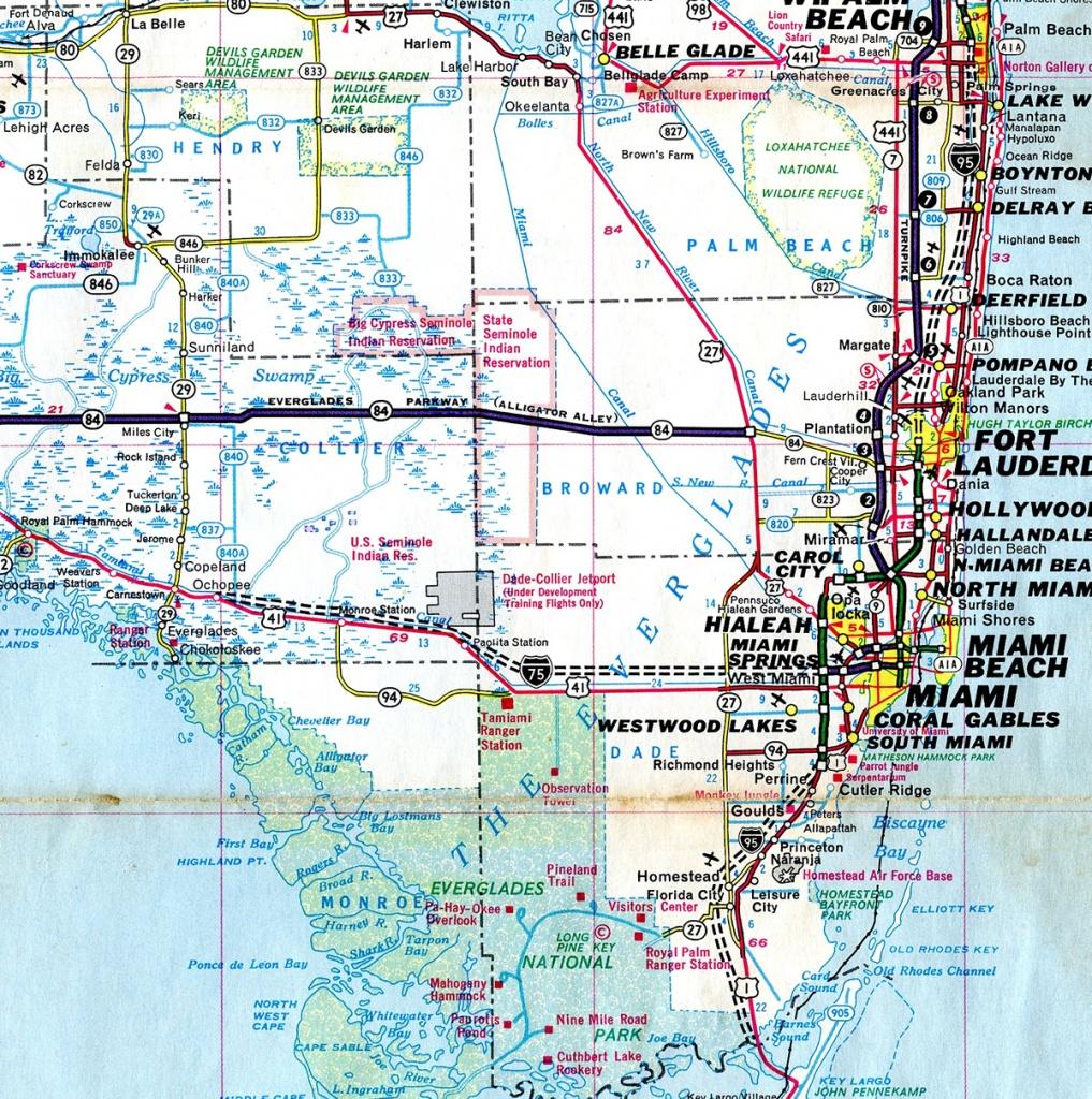 Alligator Alley Florida Map | Fysiotherapieamstelstreek - Alligators In Florida Map