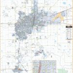 Amarillo, Tx Wall Map   Texas Wall Map