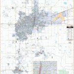 Amarillo, Tx Wall Map   Texas Wall Map