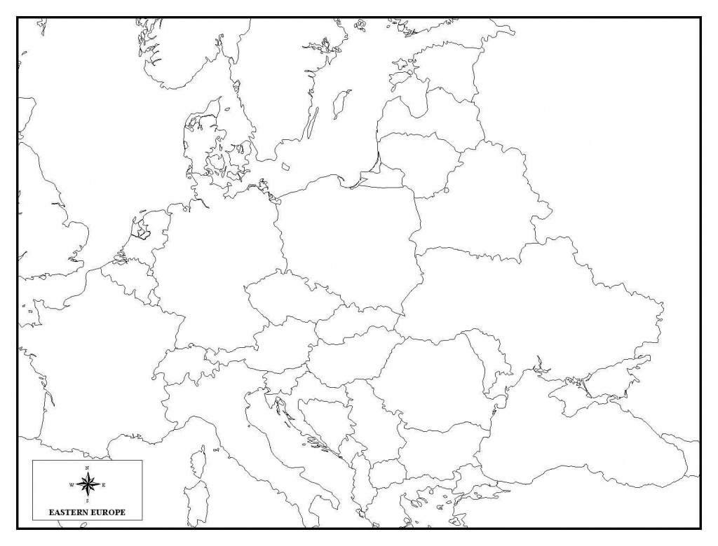 Amazing Blank Europe Map Quiz 6 Of 5 - World Wide Maps - Blank Europe Map Quiz Printable