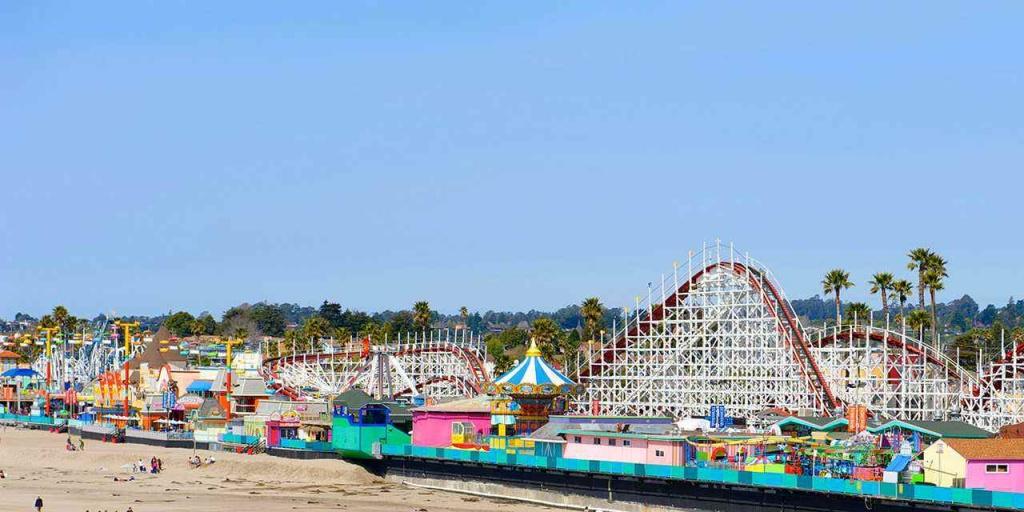 Amazing Theme Parks | Visit California - Amusement Parks California Map