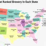 America The Brew Tiful: Mapping The Best Brewery In Each State   Zippia   Florida Brewery Map