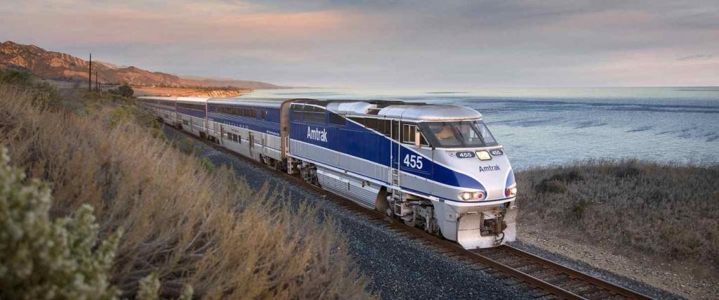 Amtrak® Pacific Surfliner® - Amtrak California Surfliner Map