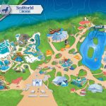 Amusement Parks In The Us Map Themeparkmap Best Of Seaworld San   Seaworld San Antonio Printable Map