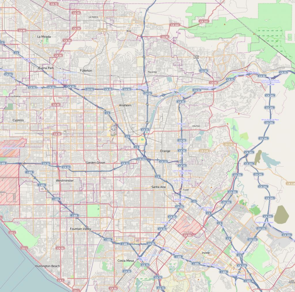 Anaheim Resort - Wikipedia - Map Of Anaheim California And Surrounding Areas