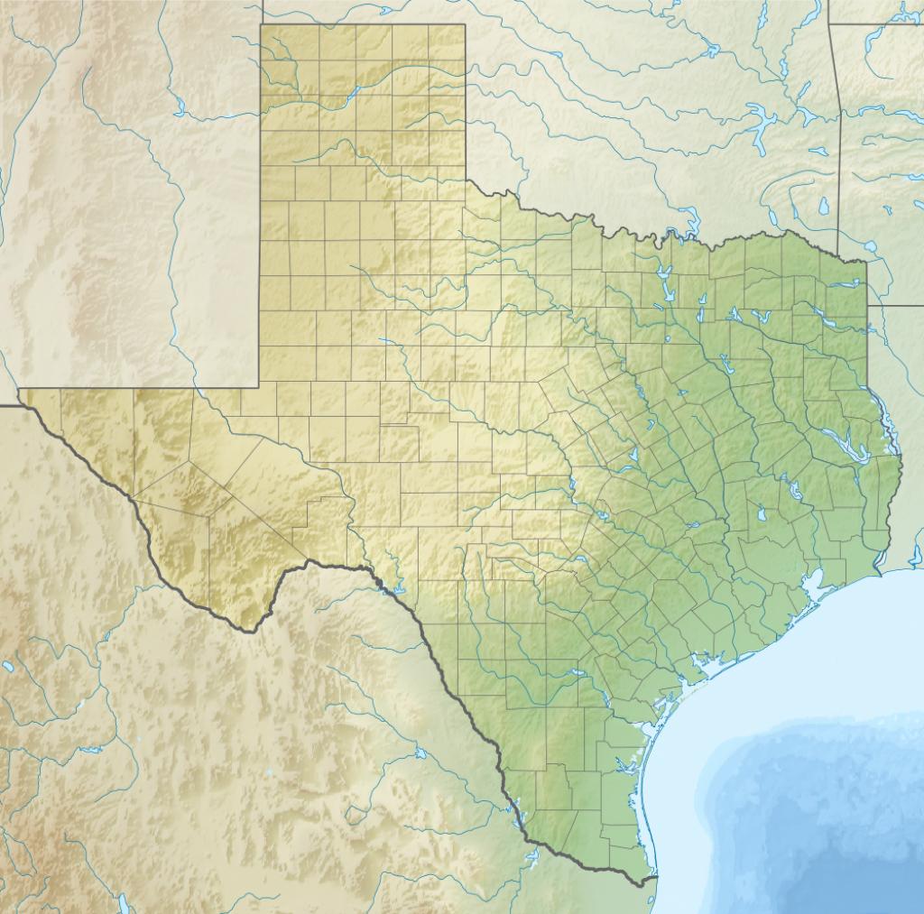 Anahuac National Wildlife Refuge - Wikipedia - Texas Wildlife Refuge Map
