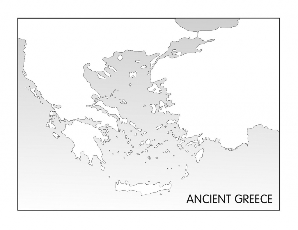 Ancient Greece, Printable Blank Map | Homeschooling Journey, Part 3 - Ancient Greece Map For Kids Printables