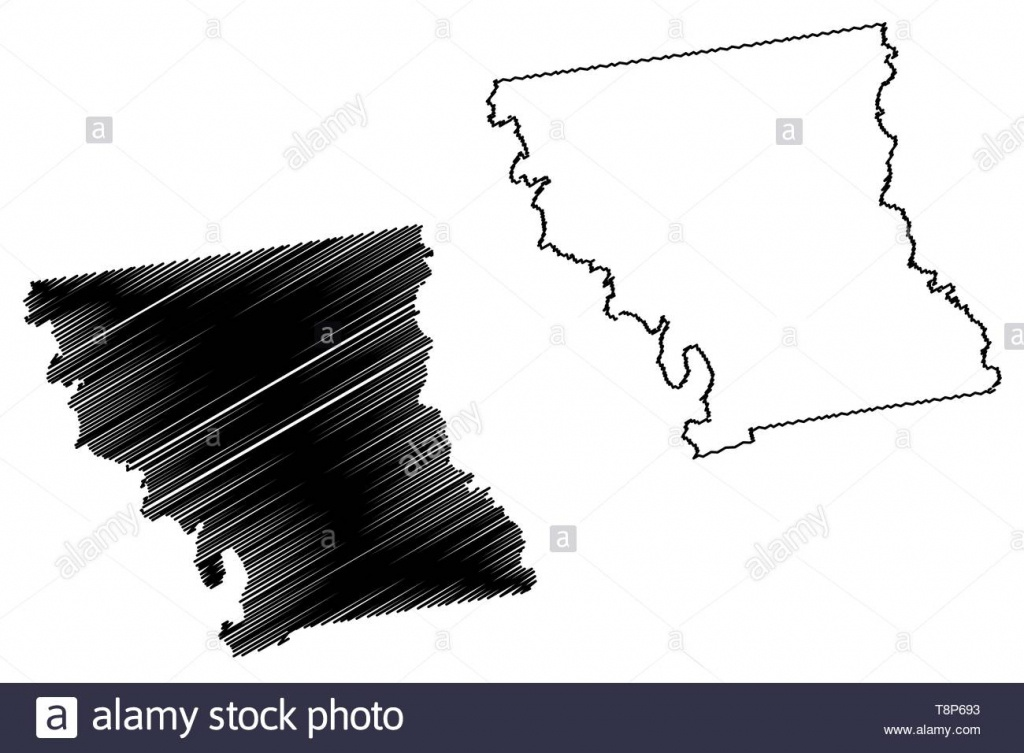 Anderson County, Texas (Counties In Texas, United States Of America - Texas County Map Vector