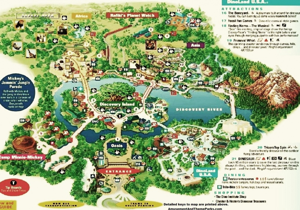 Animal Kingdom Map | Disney | Disney World Trip, Theme Park Map - Printable Maps Of Disney World Parks
