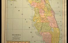 Map Of Florida Wall Art