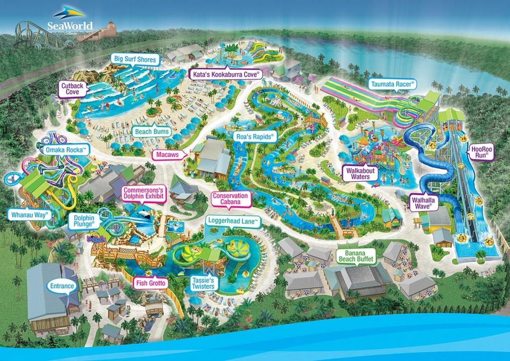 Aquatica Water Park, Orlando, Fl | Favorite Places In 2019 | Orlando - Aquatica Florida Map