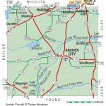 Archer County | The Handbook Of Texas Online| Texas State Historical   Winnie Texas Map