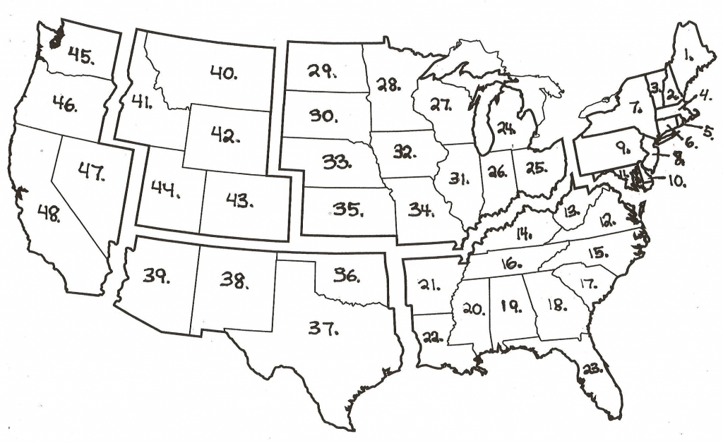 Archive With Tag: Southeast States Quiz Fill In The Blank | Maps Usa - Southeast States Map Printable
