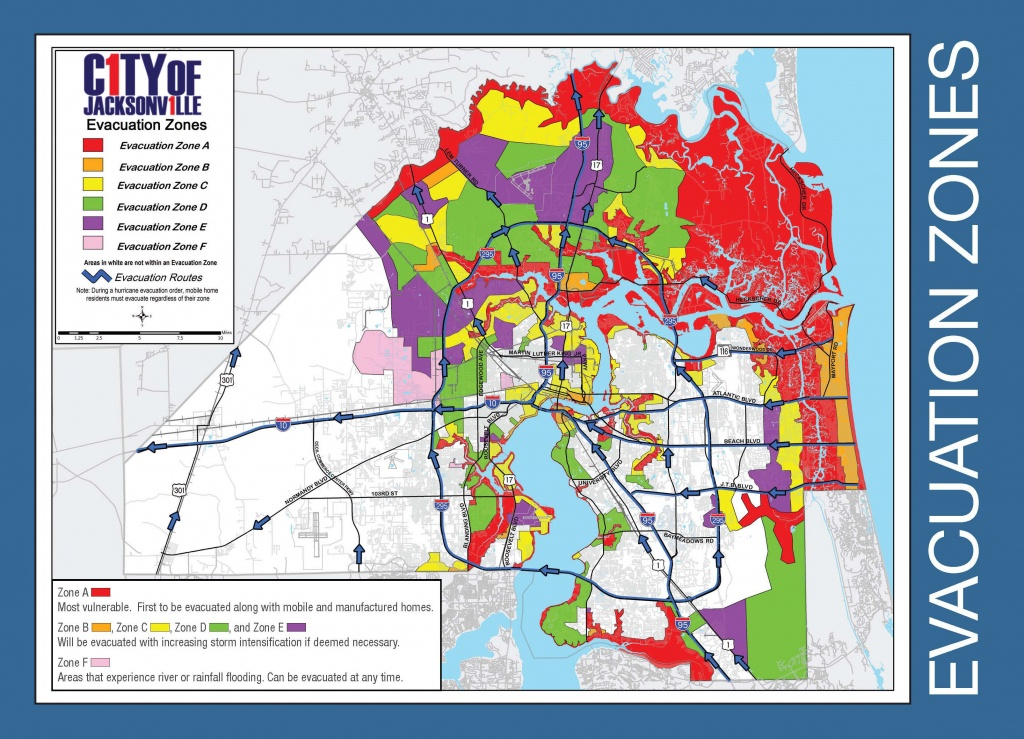 Are You In An Evacuation Zone? Click Here To Find Out - Florida Evacuation Route Map