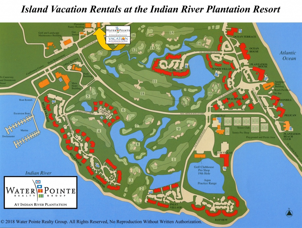 Area Map | Water Pointe Realty Group. Vacation Hutchinson Island - Hutchinson Beach Florida Map