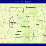 Area Maps – Radius Indiana   Printable Radius Map