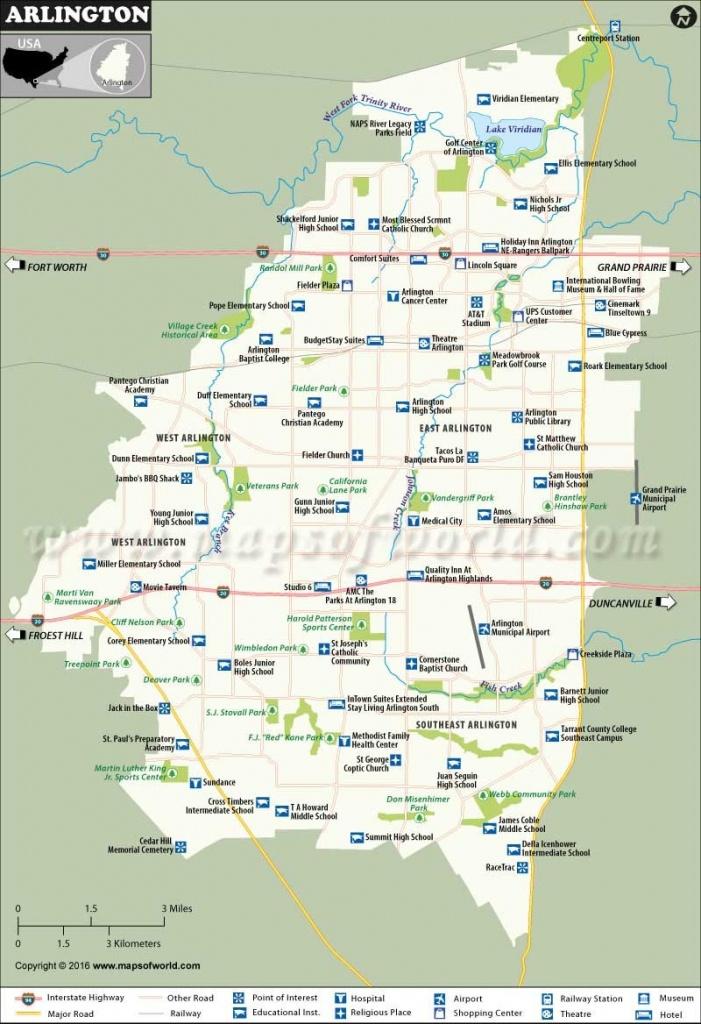 Arlington Map 19 Arlington Texas Map   Ageorgio - Arlington Texas Map