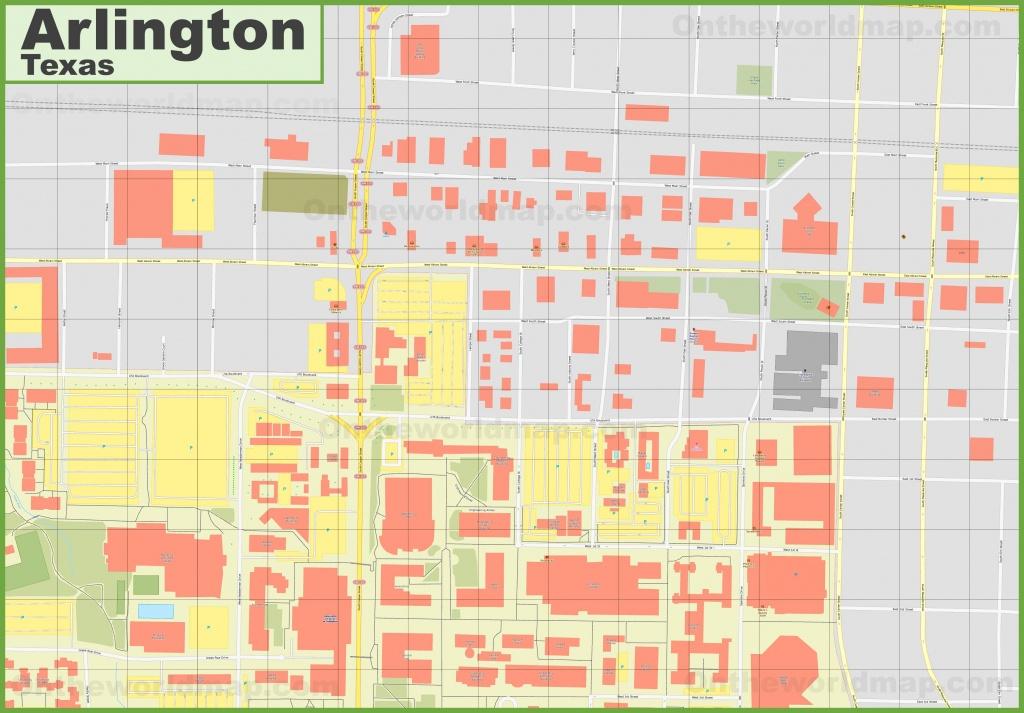 Arlington Texas Map   Ageorgio - Arlington Texas Map