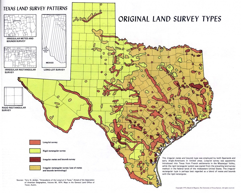 Atlas Of Texas - Perry-Castañeda Map Collection - Ut Library Online - Texas Land Value Map