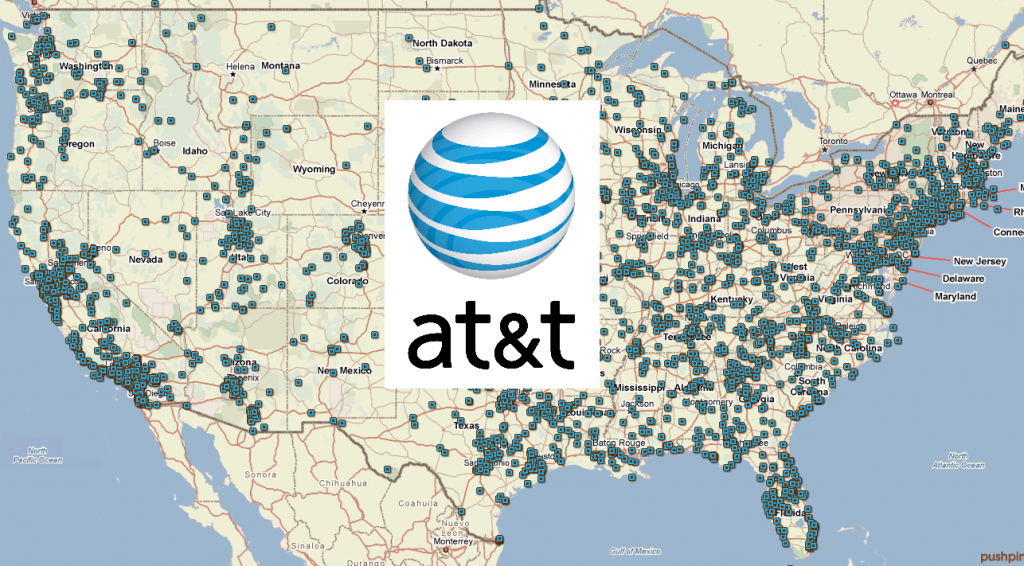 At&t Service Plans And Coverage Review - Florida Cell Phone Coverage Map