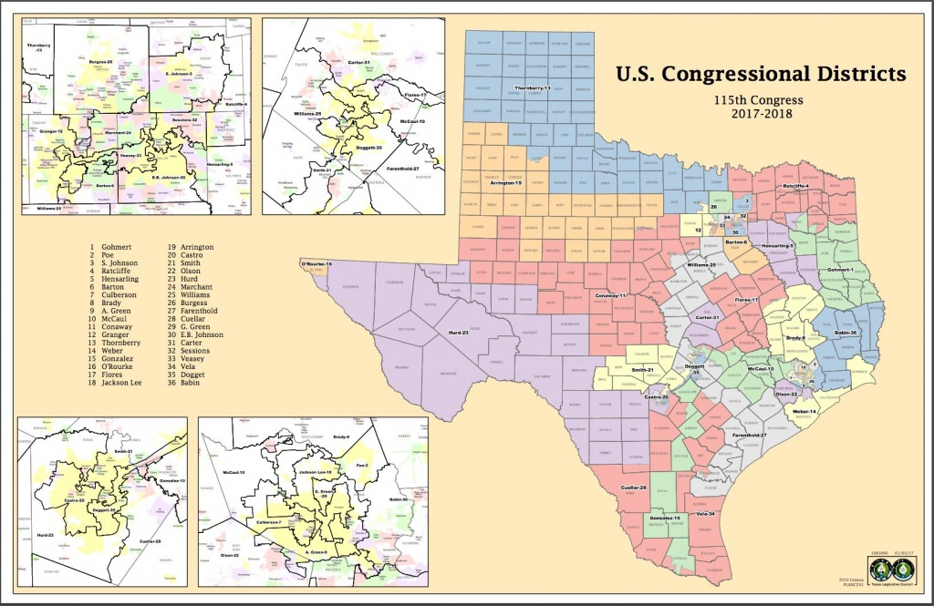Attorneys Say Texas Might Have New Congressional Districts Before - Texas Senate District Map