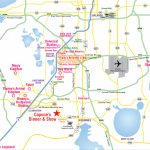 Attractions Map : Orlando Area Theme Park Map : Alcapones   Google Maps Orlando Florida