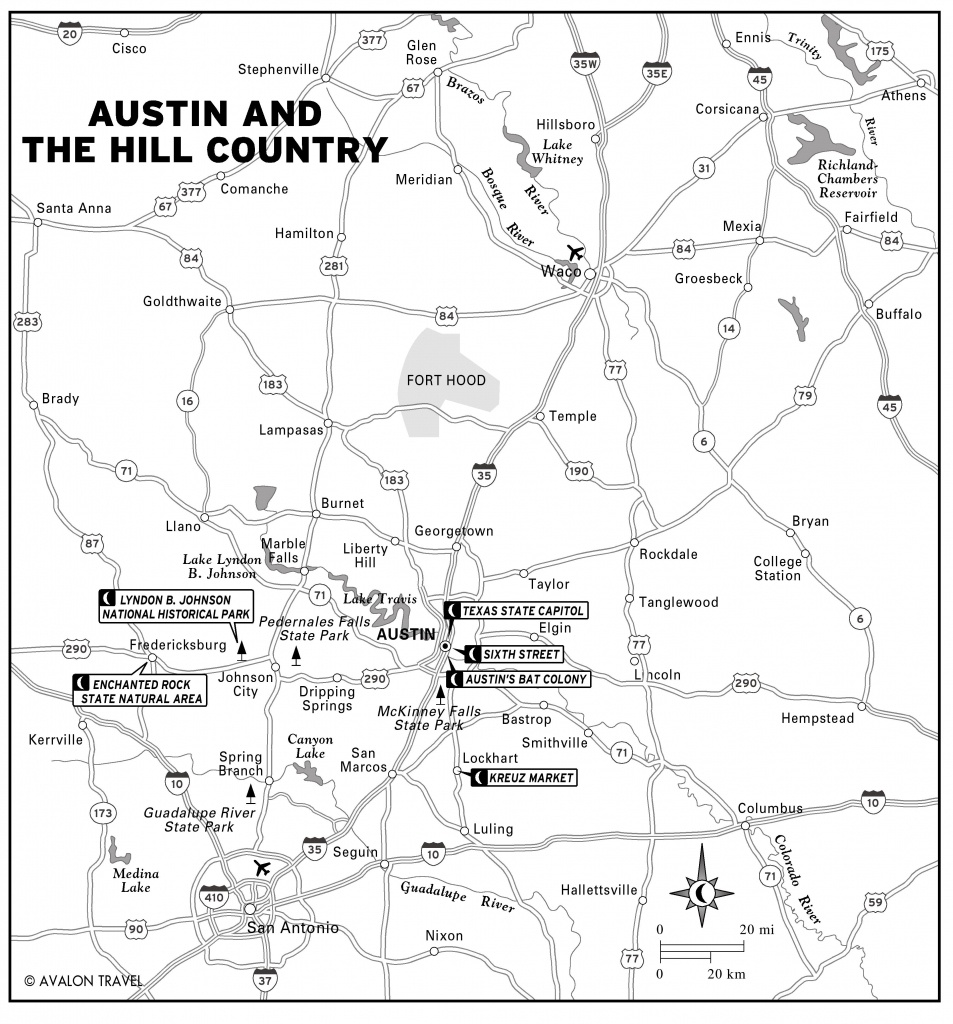 Austin Texas Tourist Map - Austin Texas • Mappery - Printable Map Of Austin Tx
