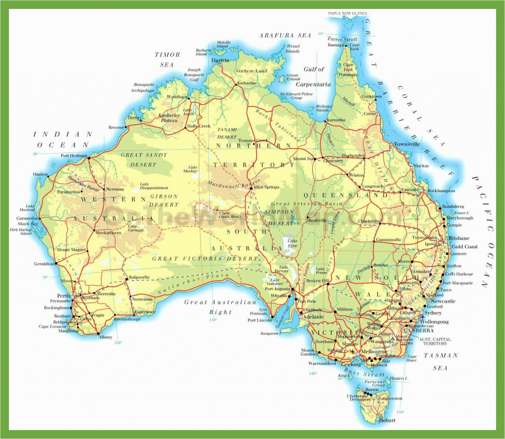 Australia Physical Map Blank Best Of Printable Maps Western Europe - Best Printable Maps