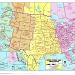 Awesome Us Map Of States Timezones Time Zone Map Usa Full Size   Printable Time Zone Map Usa And Canada