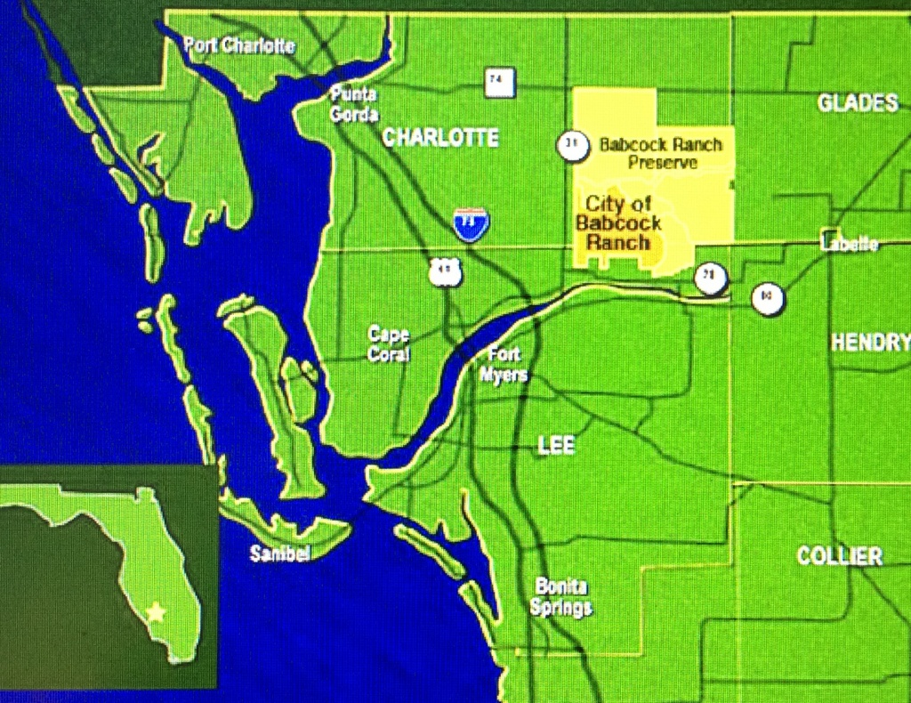 Babcock Ranch Florida Map | Autobedrijfmaatje - Babcock Ranch Florida Map