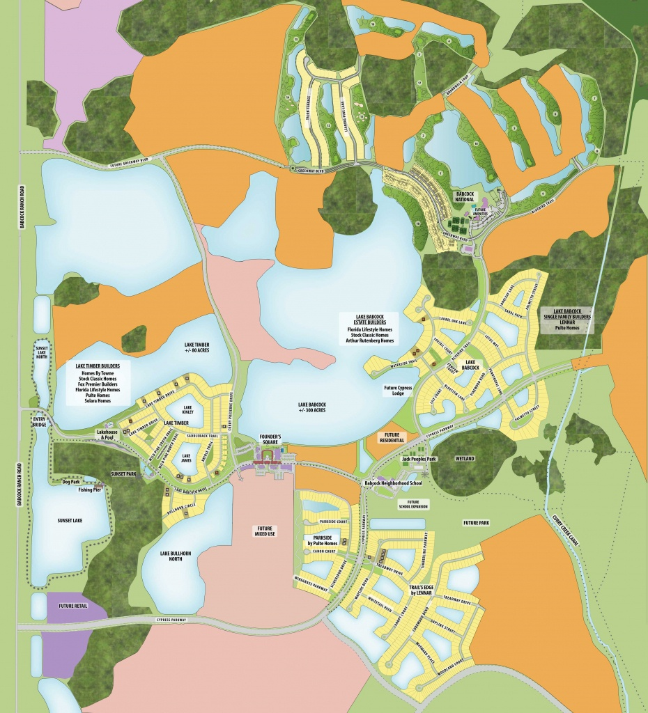Babcock Ranch Maps | Babcock Ranch - Babcock Ranch Florida Map