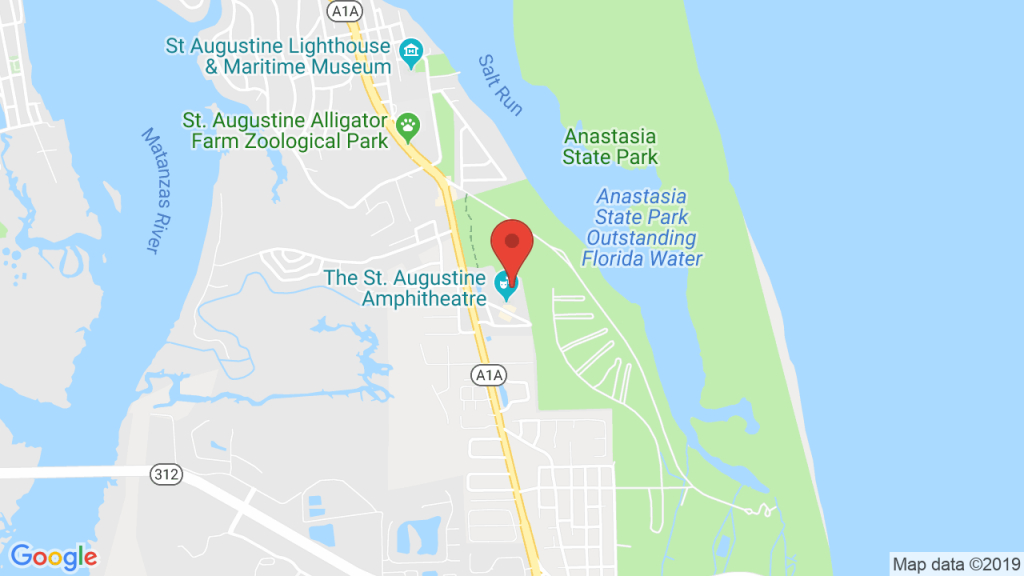 Backyard Stage At The Amp In St. Augustine, Fl - Concerts, Tickets - Google Maps St Augustine Florida