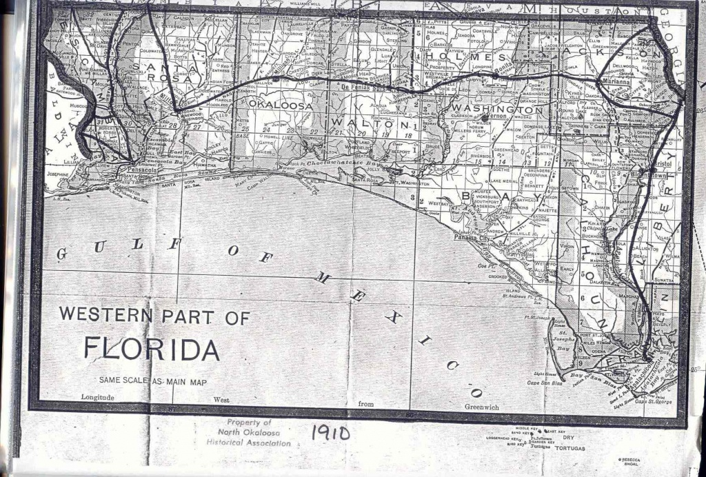 Baker Block Museum Map Collection - Old Maps Of Pensacola Florida