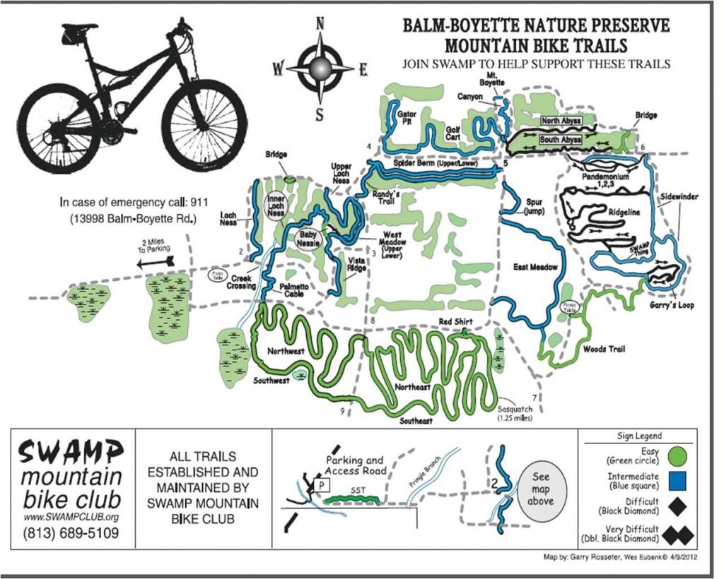 Balm Boyette: Mtb Trails Near Tampa, Florida | Mountain Biking - Florida Mountain Bike Trails Map