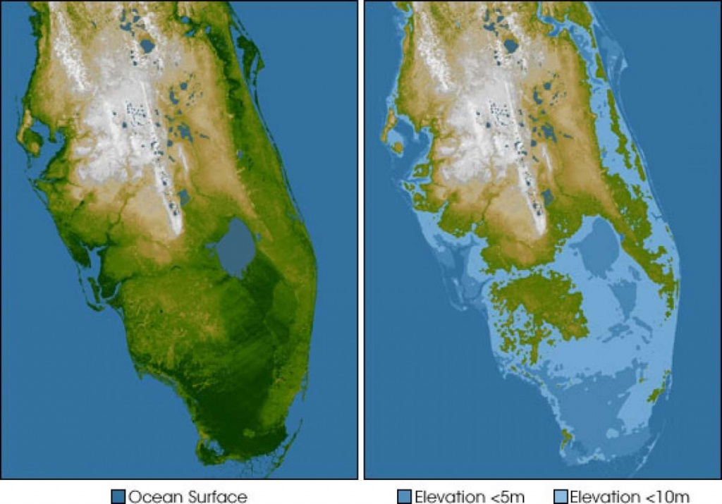 Banning Phrases Like 'climate Change' And 'global Warming' Might - Florida Map After Global Warming