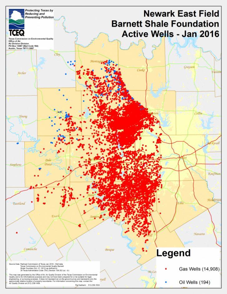 Texas Air Quality Map
