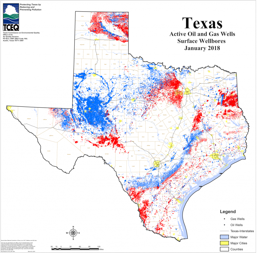 Barnett Shale Maps And Charts - Tceq - Www.tceq.texas.gov - Texas Water Well Map