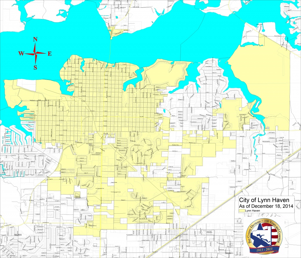 Bay County Supervisor Of Elections > Voter Info > Maps And Boundaries - Lynn Haven Florida Map