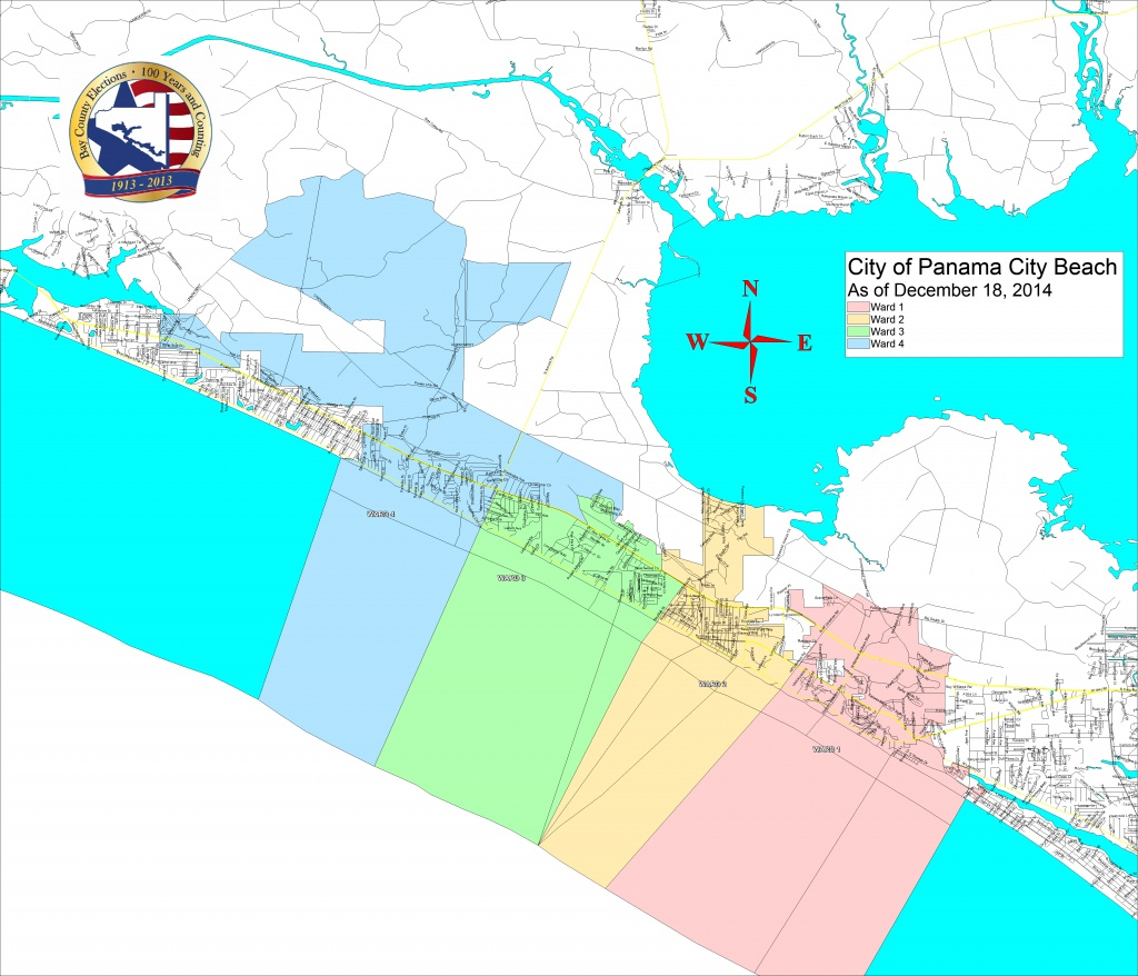 Bay County Supervisor Of Elections > Voter Info > Maps And Boundaries - Panama Florida Map